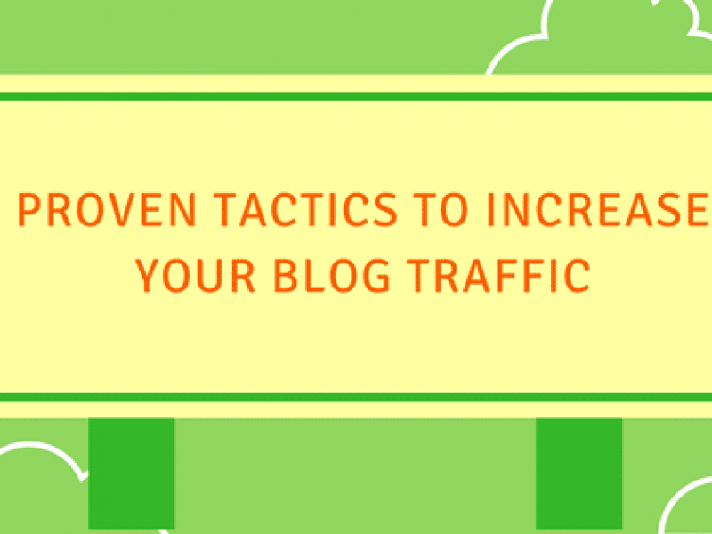 increase blog traffic photo
